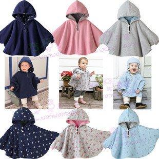 - - novo de 2011 , desgaste do bebê roupas de urso capa de crianças manto do bebê roupas de criança dupla face 1 pçs/lote(China (Mainland))