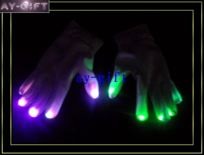 Finger Light Shows Rave light show fingers