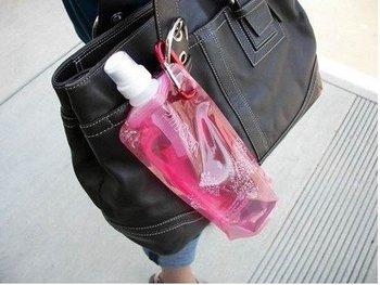 DHL free shipping!!! New arrival Vapui16oz(480ml) reusable water bottle Portable folding bottles BPA free