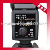 E-TTL YN-467 Camera Flash Speedlite light for camera DSLR 40D 50D 350D 400D
