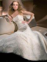 Свадебное платье item 617 luxury satin beaded sleeveless floor-length ball gown wedding gown bridal dress wedding dress