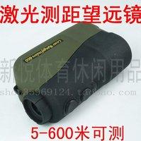 Laser range finder / night vision High-power Binoculars LRF700A (5  600 m) Error / -1 m