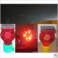10pcs LED solar traffic warning lights / tower lights / tower lights, tower cranes, airports, bridges, warning lamp
