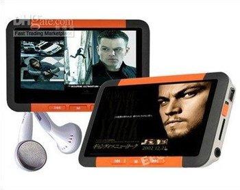2pcs T108 A950 real 16GB 3.0 Inch TV-OUT FM Radio AVI RM/RMVB HD MP3 Mp4 Players