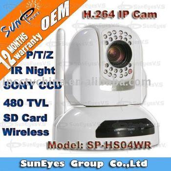 Suneyes PTZ Wireless IP Camera SP-HS04WR