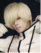Men short hair/Beige Men Handsome Cosplay Party Hair wigs/fashion boy kanekalon wig/3 colors(China (Mainland))