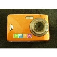 FREE SHIPPING NEW 2.4TFT Touch Screen 12mega pixels digital camera ORANGE