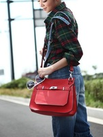 Wholesale 2011 free shipping new style women's fashion Handbags Messenger Bag,Sling student bag pu leather casual.