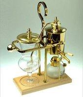 Belgium Royal Belgian pot coffee pot coffee pot gold 8D