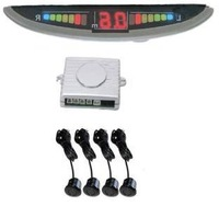 Wholesale, Free Shipping, LED Type Parking Sensor System LF-PD04 Reverse Display