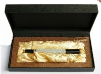 30pcs/lot 2011 The Best Gift--Upmarket Fashion White Pearl Fountain Pen with Gift Box