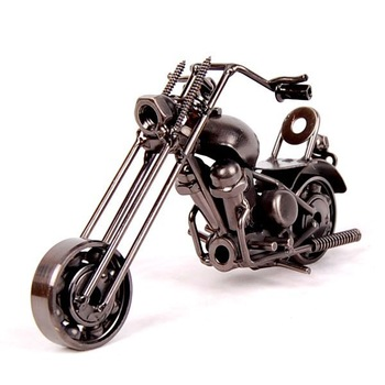 logo printing Novelty Mettle metal crafts classic motorcycle models M33