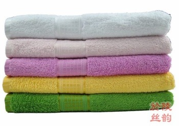 "55""Lx27""W 100%cotton towel, bath towel, terry towel, high quality wholesale & free shipping"