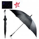 FREE SHIPPING+LED Umbrella+light Umbrella+Twilight Umbrella with Blue LED Gadget