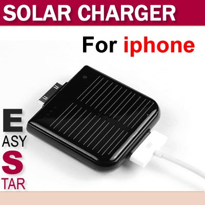1900mAh external solar battery power charger for iphone 4 3g 3gs,free shipping(China (Mainland))