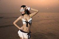 Free Shipping 10sets/lot Sexy Bikini Fashion Swimwear Swimsuit S M L XL XXL