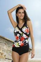 best quality 10sets/lot Flowers One piece Sexy Bikini Fashion Cute Swimwear Free shipping