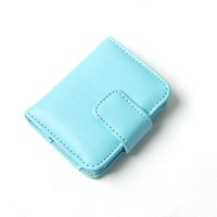 5pieces/lot-Bi-Folder Blue Leather Case for Apple iPod Nano 3rd Gen 4GB/8GB