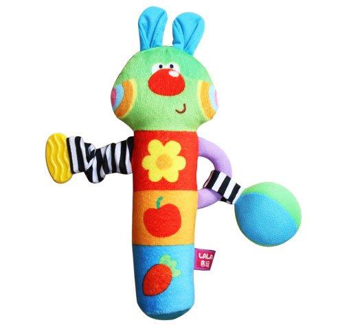 Livraison gratuite de lapin roll bar jouet. ensembles. n0004 développement précoce bébé jouets jouets bébé musical de jouets