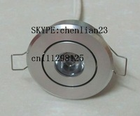 free shipping 20pcs 20pcs   3w led dimmable ceiling light/high power led dimmable ceiling