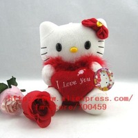 Hot sale! lots 1pcs hello kitty Children's lovely doll soft Toy Plush Toys A6 +Free Shipping 03