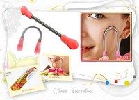 Wholesale 50pcs/lot Beauty Facial Epistick Smooth Face Grainer Hair Remover Threading Make UP Bent U-Shape