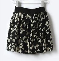 NWT Korean Fashion Sexy Mini Skirt Butterfly