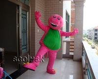Manufacturers Apparel of Purple Barney Brand Cartoon Mascot Costume For Party