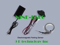 1 set free shipping factory wholesale Electromagnetic parking sensor, easy installation, no dirl on bump (DIY)