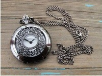 Free shipping ,Minimum quantity 1 piece,Watch series hollow out retro pocket watch