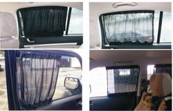 70*47cm 3M car sun shade side window curtain auto car curtains car suv window curtain blinds side window shades Flat fabric(China (Mainland))