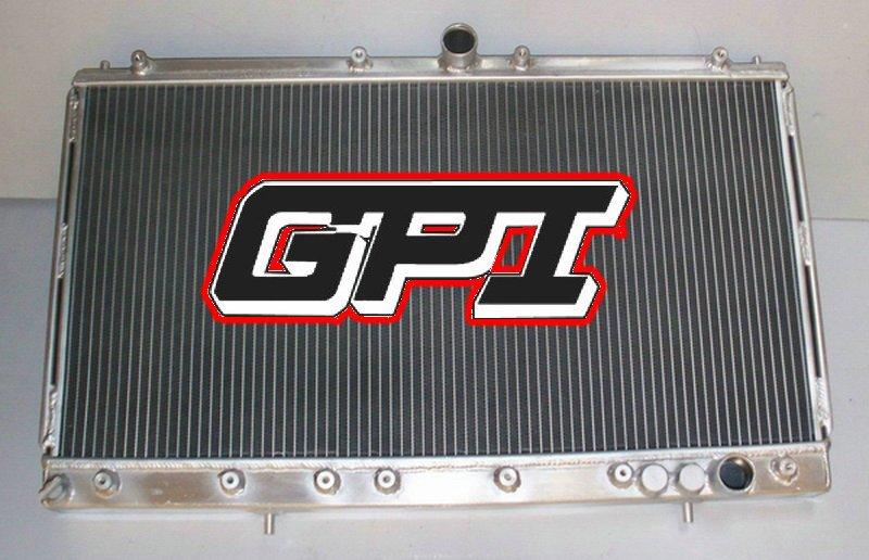 FOR MITSUBISHI GTO 3000GT SPYDER VR4/SL 1991 91 1992 92 oversize Aluminum racing Radiatoroversize Aluminum racing Radiator(China (Mainland))