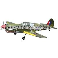 RC gas ariplane P-40 WARHAWK
