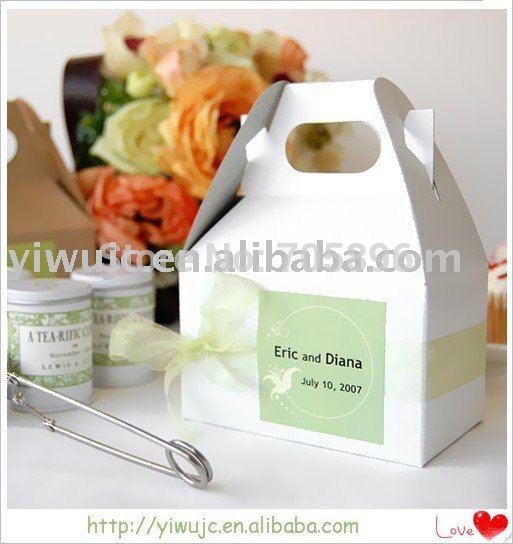 New Wedding Mini Gable Favor Boxes (JCO-375)(China (Mainland))