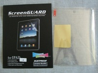 20 pcs New Clear LCD protective Screen Protector film guard for Apple iPad 2 2th 2G with retail pack Free Shipping