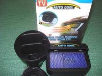 48pcs/lot auto cool solar powered auto fan keep parked car cooler fan as seen on tv