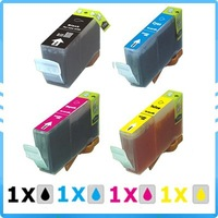 4 x ink For Canon i550 i855 iP4000 iP5000 S400 i550/ i560/ i850/ i860/ i865/ i6500/ i8650 BCI-3eBK