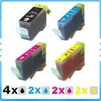 10x ink For Canon i550/ i560/ i850/ i860/ i865/ i6500/ i8650/IP5000 BCI-3eBK BCI-3eC BCI-3eM BCI-3eY