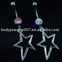 belly ring button ,nice and new style JFB-7273