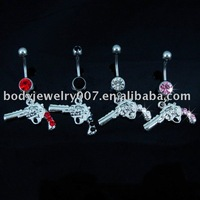 belly ring button ,nice and new style JFB-7440