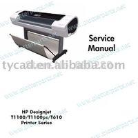DesignJet T610 T1100 Series Service Manual PDF