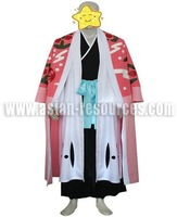 Wholesale Free Shipping Hot Selling Cheap New Cosplay Costume C0228 Bleach Kyouraku Shunsui