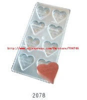 10pcs [sd2078 My Valentine ] Mould Jelly mold , transparent hard material