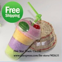 2011 New Style~Free Shipping/Accept Credit Card Wholesale 150pcs Handmade 100% Cotton Sweet icecream cake towel