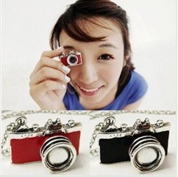 Free shipping~Wholesale Fashion Jewelry,Retro Camera Necklace,Sweater necklace,Very personalized necklace 25pcs/lot+free gift