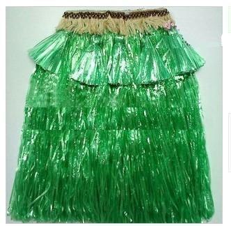 verde / Engrossar Personalidade grama havaiano saia / L60CM / Halloween festa a fantasia show de dança traje do partido saia de grama(China (Mainland))
