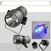Free shipping+ 3W Fishing Lights / fishing blue night light / Fishing Lamp / blue LED lights 10pcs