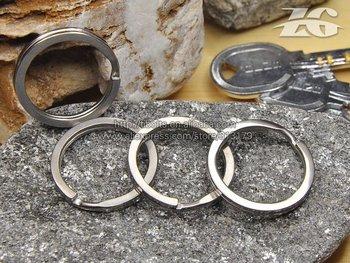 Titanium metal Key Ring,titanium key buckle,titanium key chain