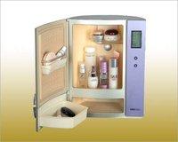 mini fridge  Cosmetic Cooler, Cosmetic Storage boxes, electronic refrigerator, cosmetic refrigerator