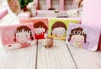 35pcs/lot, Wannathis momoi Korean style cute card bag/purse, card case, bank card holder,PVC credit card pouch,can hold 12 cards
